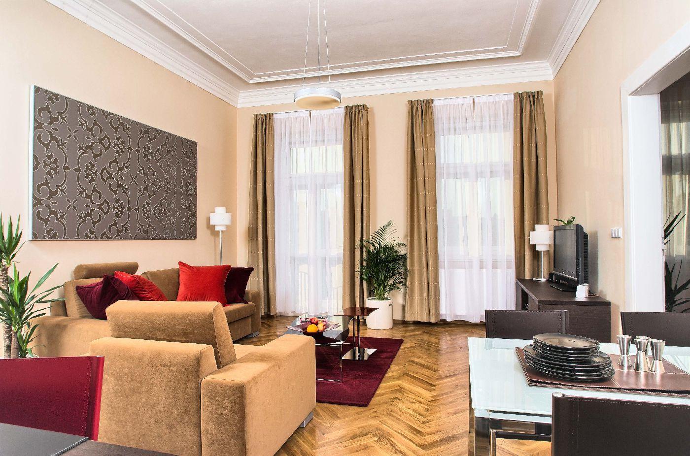 One-bedroom apartment Type 1 in Residence Karolina Prague